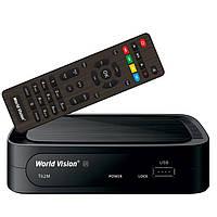 Тюнер Т2 приставка ТВ DIGITAL TV DVB-T5 Пульт WiFi YouTube FullHD 32 канала IPTV простая настройка, фото 1