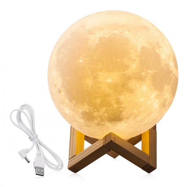 Настольный светильник луна Magic 3D Moon Light Original
