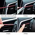 Молдинг - полоса для решетки воздуховода / дефлектора / вентиляции (Комплект 10 шт.), фото 4