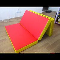 Мат складной 150-100-10 см с 3-х частей, фото 1