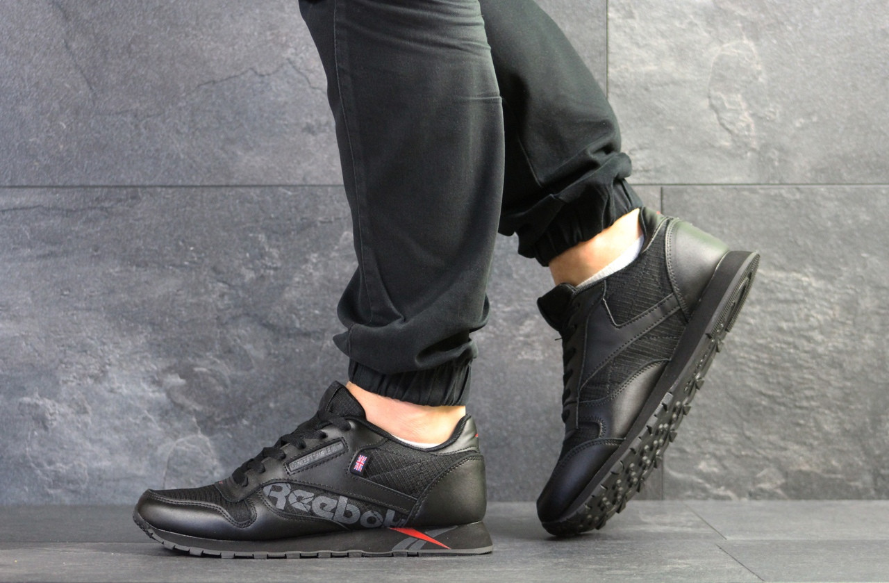 Мужские кроссовки Reebok,черные