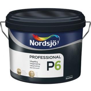 Матовая износостойкая акриловая краска для стен Sadolin PROFESSIONAL P6  10 л
