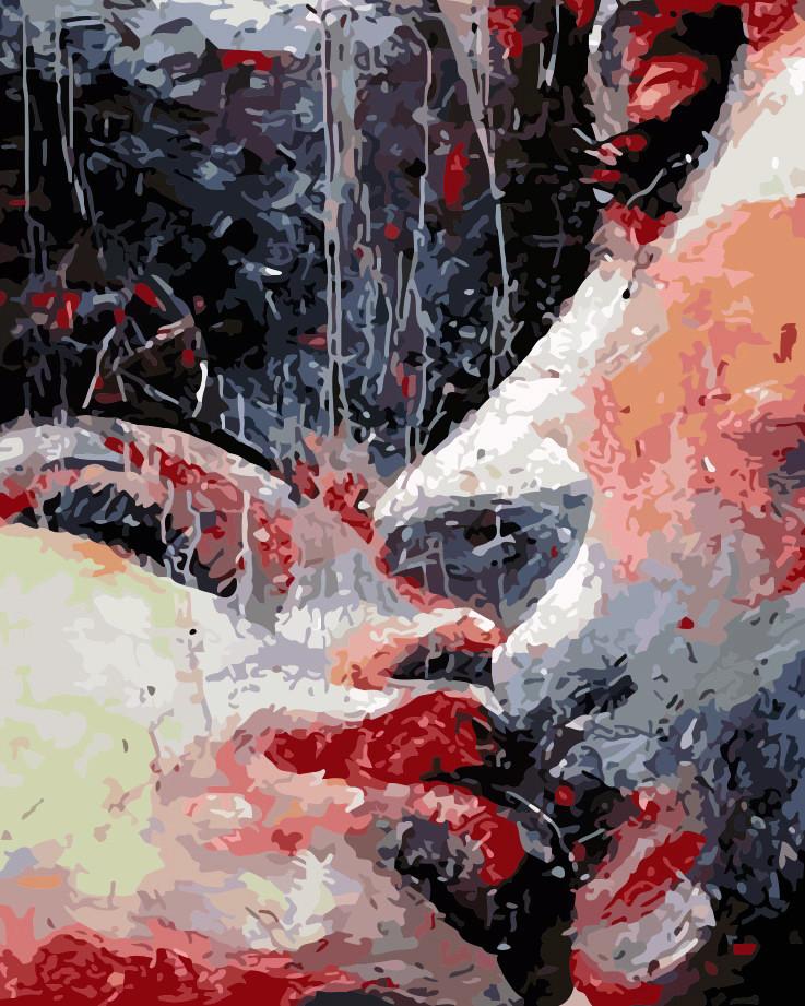Художественный творческий набор, картина по номерам Страстный поцелуй, 40x50 см, «Art Story» (AS0188)