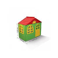 Домик детский со шторками 01550