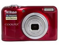 Цифр. фотокамера Nikon Coolpix A10 Red (VNA982E1) (официальная гарантия)