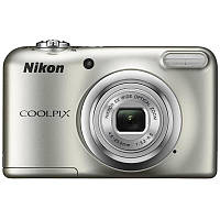 Цифр. фотокамера Nikon Coolpix A10 Silver (VNA980E1) (официальная гарантия)