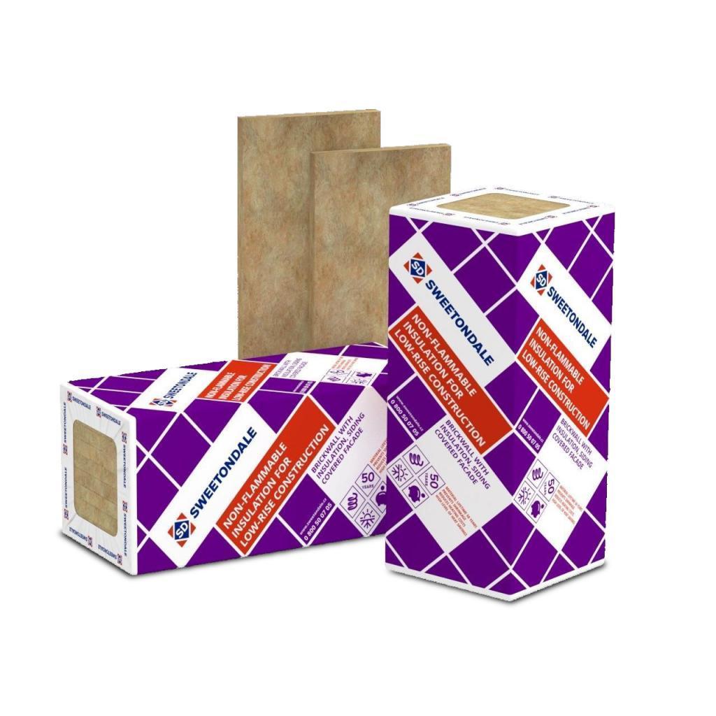ТЕХНОБЛОК СТАНДАРТ 100 мм Утеплитель ТехноНиколь (Sweetondale) для слоистой кладки и перегородок