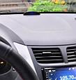 Часы автомобильные + датчик наружной температуры + вольтметр + сенсорное управление, фото 4