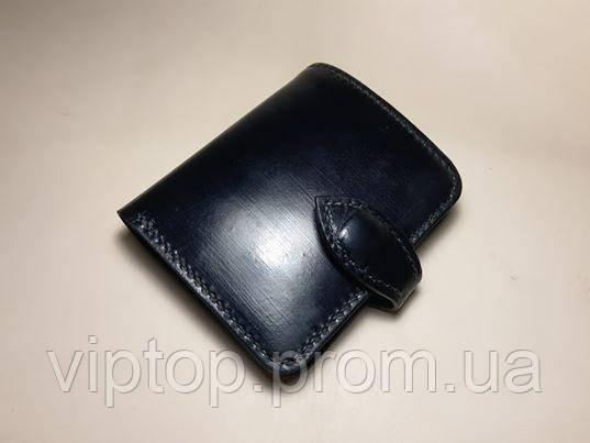 Гаманець портмоне (натуральна шкіра) чорний