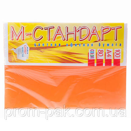 Бумага для цветного лазерного принтера М - Стандарт А4 г/м² 80 пастель, фото 2