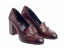 Туфлі Etor 6851-113295-1 коричневі