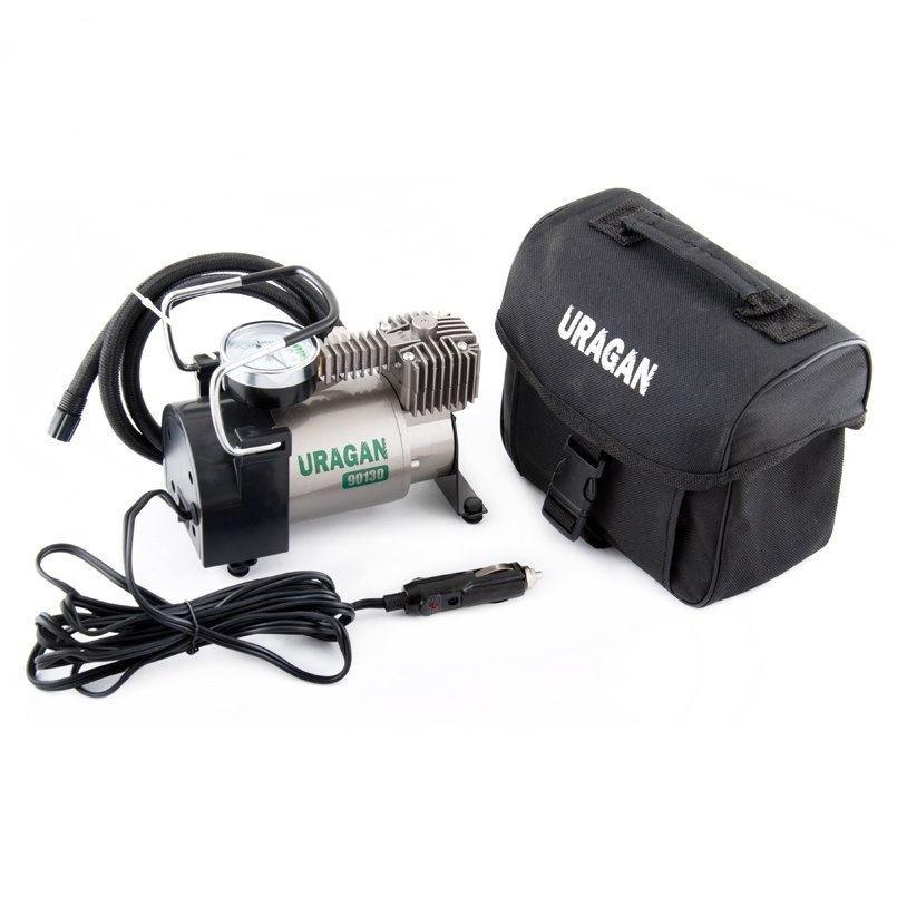 Компрессор автомобильный URAGAN 90130(УРАГАН),насос электрический для шин,компрессор автомобильный