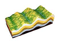 Модель Будова земних складок та еволюція рельєфу