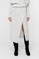 Женская вязаная юбка (42-44, белый )
