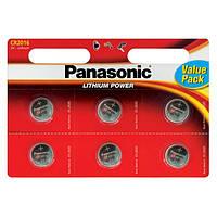 БатарейкаPanasonic CR 2016 BL 6шт