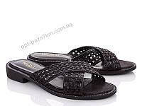 Шлепки женские Mei De Li 622-30 black (36-41) - купить оптом на 7км в одессе