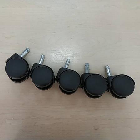 Колеса для кресел нейлон 10мм АМФ (5 шт.), фото 2