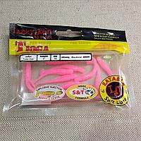 "LUCKY JOHN Виброхвост 2""  TIOGA F05 (Super Pink)"