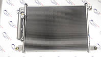Радиатор кондиционера Авео 1.5, 1.6 до 09 г.в. (в сборе с осушителем) ; Nissens , Дания