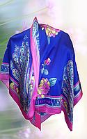 Платок брендовый Leonard натуральный шёлк Турция