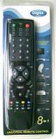 Универсальный Пульт 8в1TV DVD SAT CABL VCR CD HIFI черный