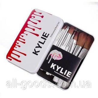 Профессиональный набор кистей для макияжа Kylie Professional Brush Set 12 шт, фото 2