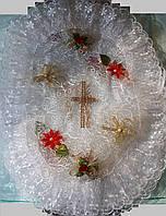 Красивая пасхальная салфетка на корзину , фото 1