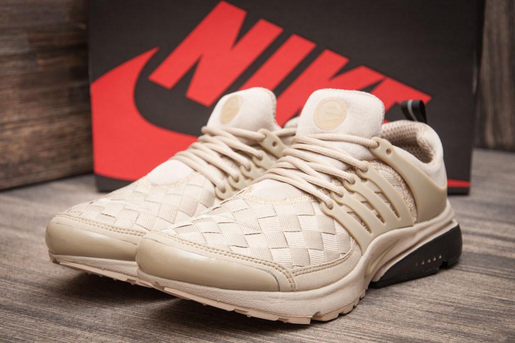 Кроссовки мужские  в стиле Nike Air Presto, бежевые (11061) [  41 43 44  ]