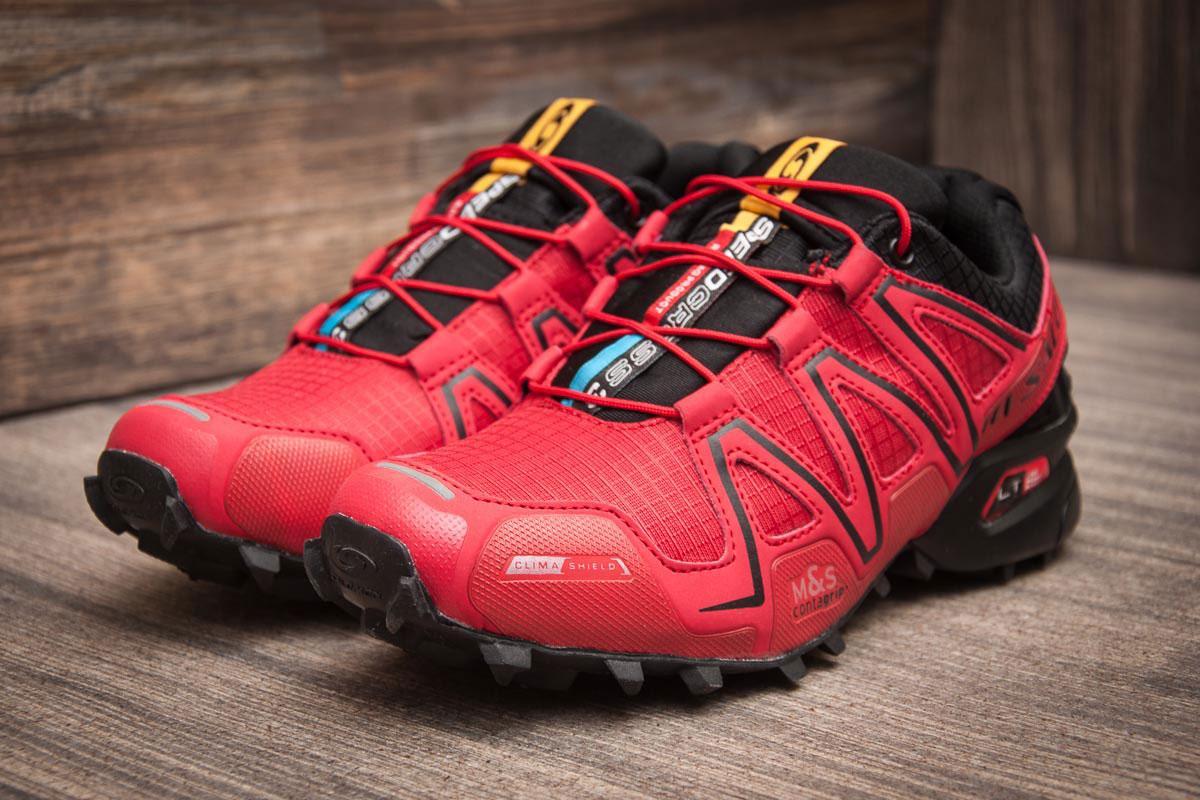 Кроссовки мужские  Salomon Speedcross 3, красные (11225) [  41 (последняя пара)  ]