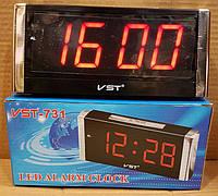 Настольные электронные LED часы VST-731-1