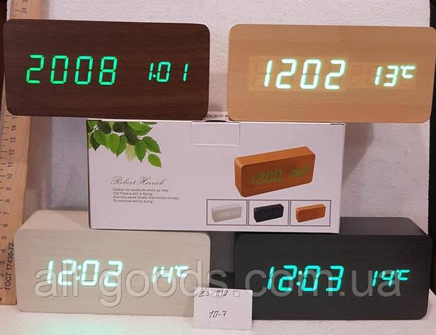 Электронные настольные часы ZJ-010, фото 2