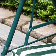 Качеля садовая Bonro 2-х местная зеленая, фото 3
