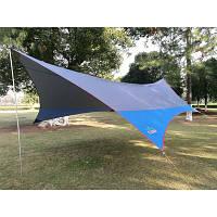 Тент GreenCamp 5.6*5м синий  GC0886B