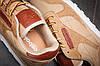 Кроссовки мужские  в стиле Reebok Cassic, коричневые (11494) [  42 43  ], фото 2