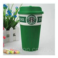 Термочашка Starbucks Green Старбакс керамическая - чашки Starbucks Старбакс, термокружка Starbucks, термочашка Starbucks, кружки старбакс, термокружка