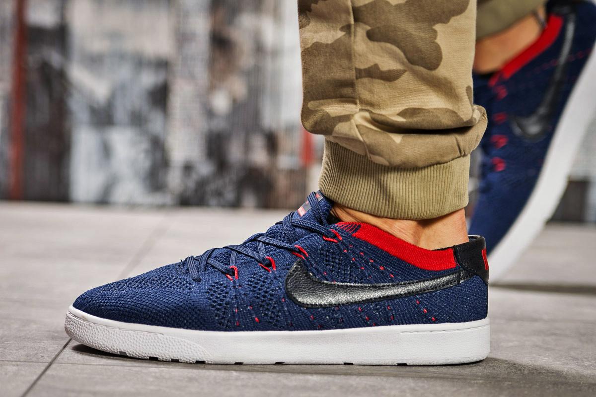 Кроссовки мужские  в стиле Nike , темно-синие (2470-6) [  41 (последняя пара)  ]