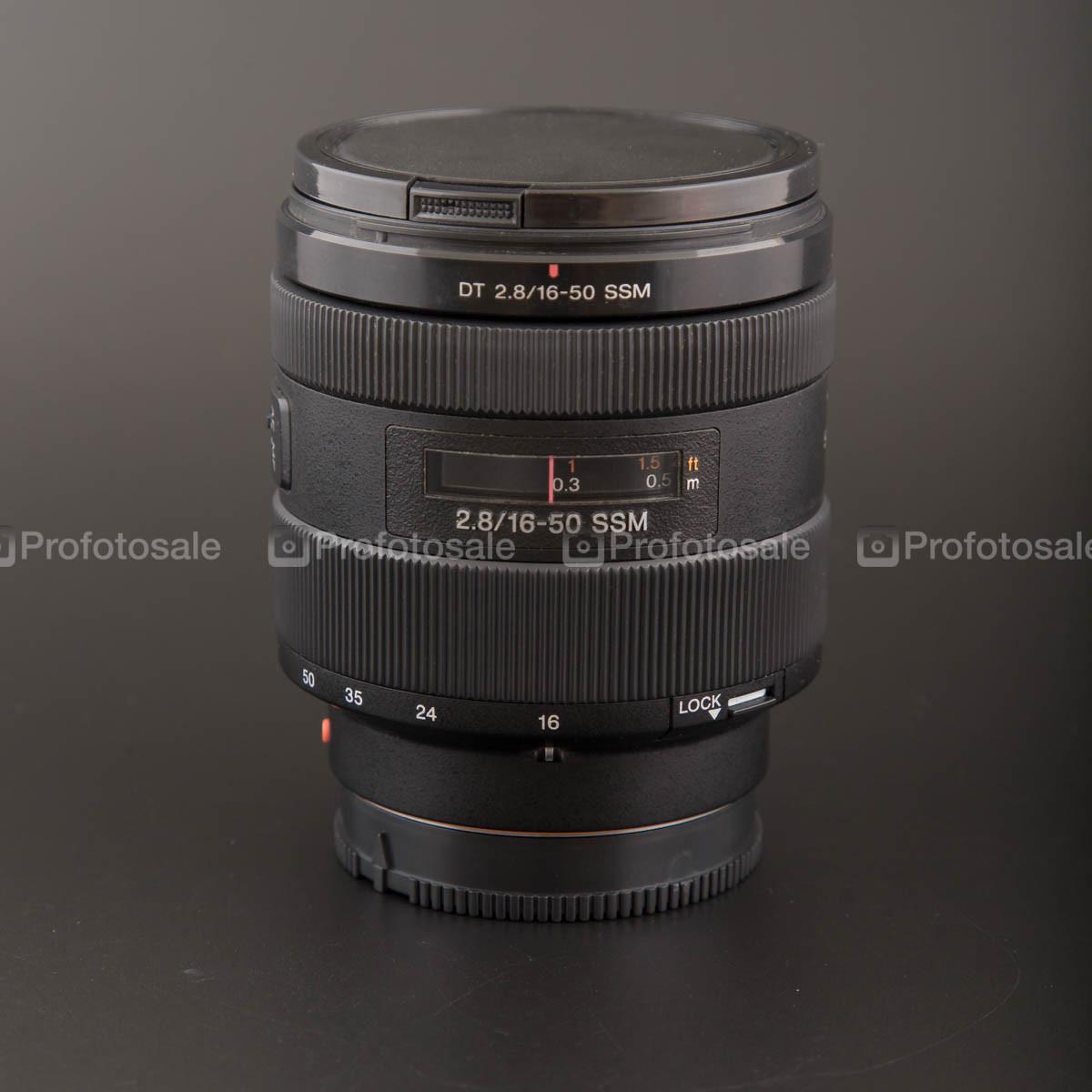 Sony DT 2.8/16 - 50 mm SSM