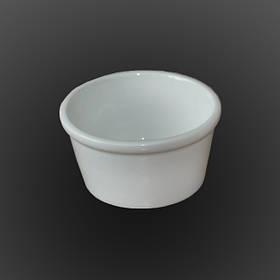 Емкость для соуса фарфоровая Farn 100 мл Белая 8152HR