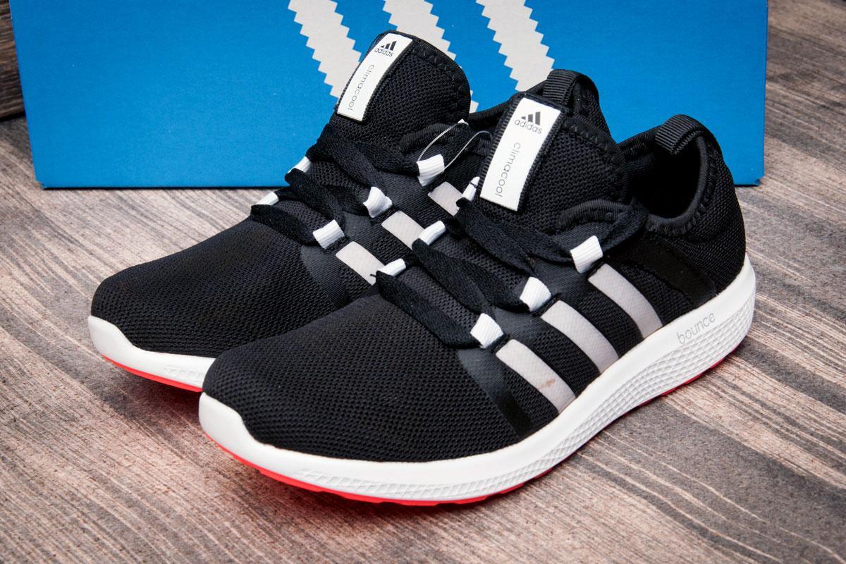 Кроссовки женские  в стиле Adidas Bounce, черные (2502-1) [  37 41  ]