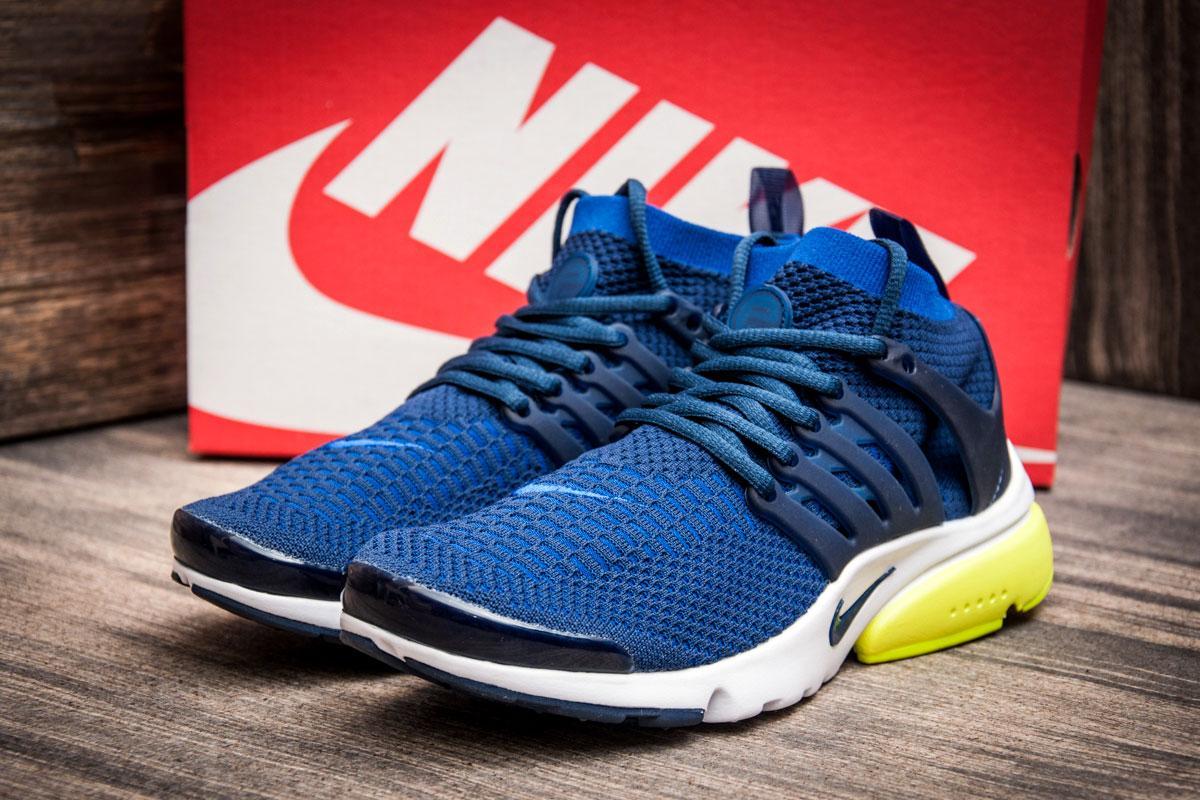 Кроссовки мужские  в стиле Nike Air Presto Flyknit Ultra, синие (2521-4) [  41 (последняя пара)  ]