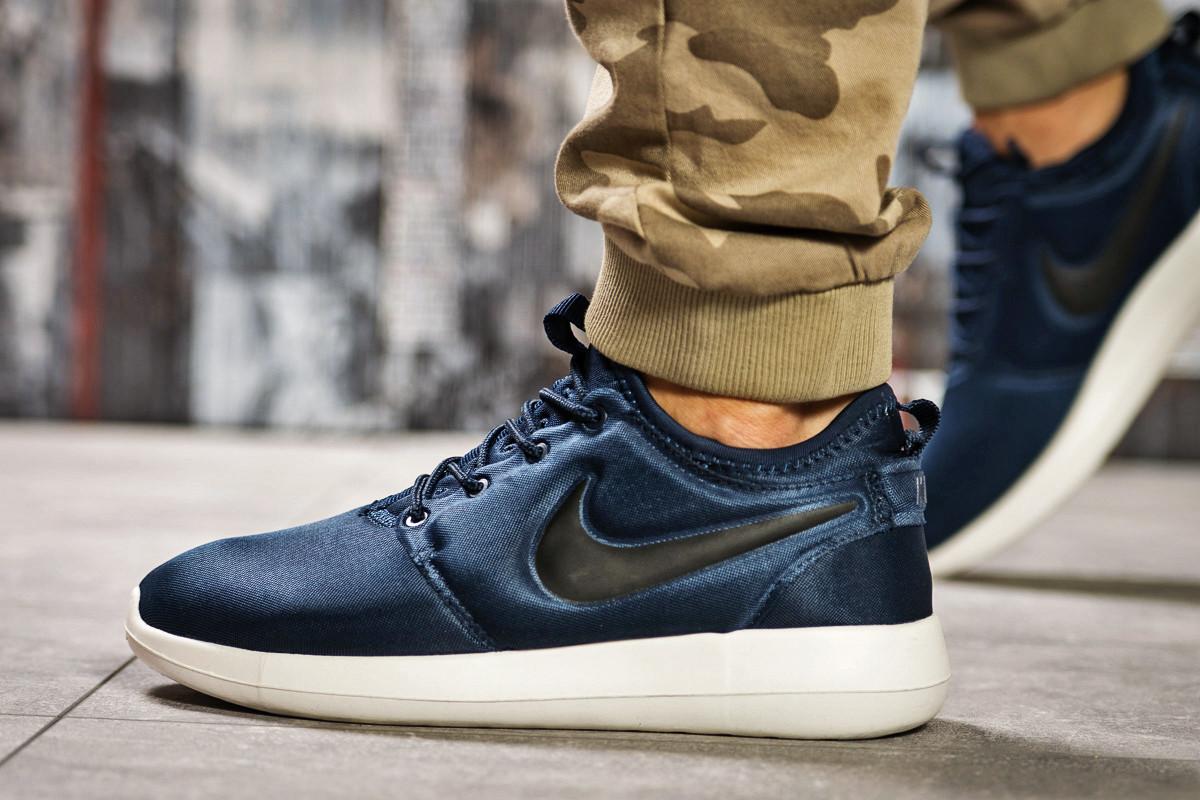 Кроссовки мужские  в стиле Nike Roshe Two, темно-синие (2532-5) [  41 44  ]