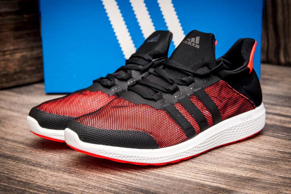 Кроссовки мужские  в стиле Adidas Bounce, черные (2545-5) [  41 (последняя пара)  ]