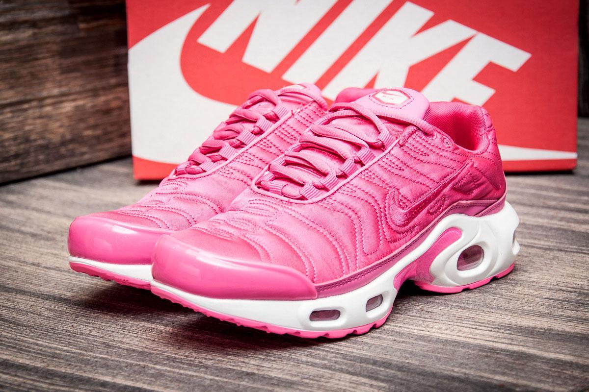 Кроссовки женские  в стиле Nike Air Max Tn plus, розовые (2550-3) [  36 (последняя пара)  ]