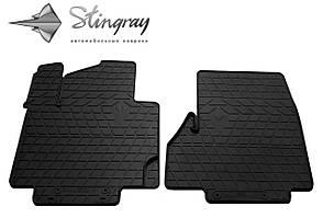 NISSAN e-NV200 2014- Комплект из 2-х ковриков Черный в салон