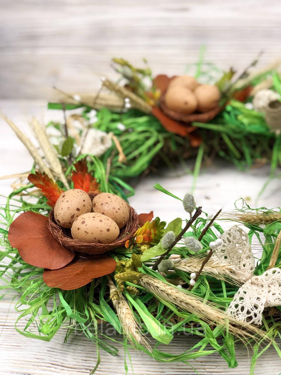 Пасхальный венок «Мгновения весны»