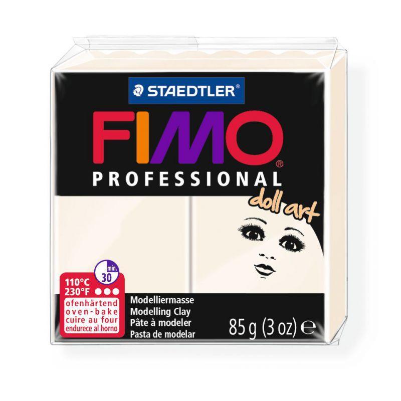 Пластика для изготовления кукол, Фарфоровая, 85 г, FIMO Professional Doll art