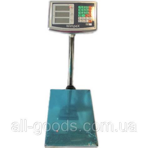 Весы торговые WIMPEX WX-600кг 45*60, фото 2