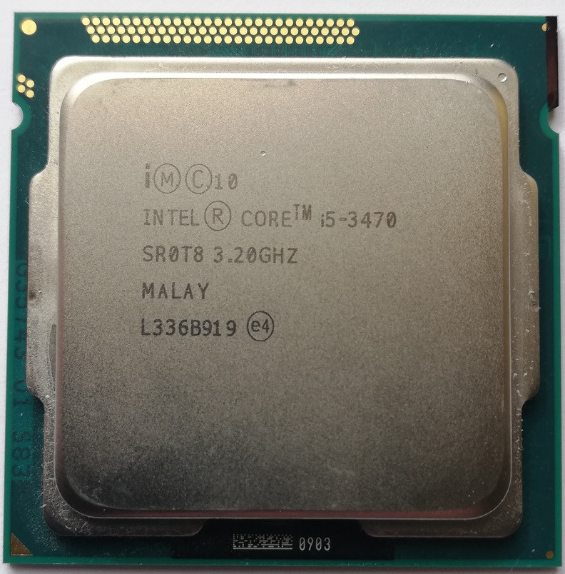 Процессор Intel Core i5-3470 N0 SR0T8 3.2GHz up 3.6GHz 6M Cache Socket 1155 Б/У