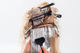 Окрашивание,осветление волос