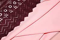 Розовый. Новый цвет.Ткань креп костюмка барби однотонная №329, фото 1